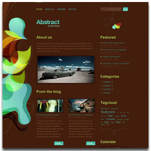 Abstract WordPress Theme