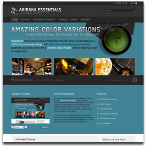 Akiraka Essentials Template
