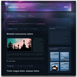 Ambience WordPress Theme
