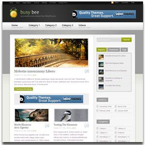 Busy Bee WordPress Theme