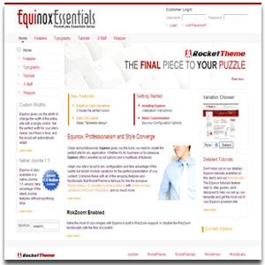 Equinox Essentials Template Series
