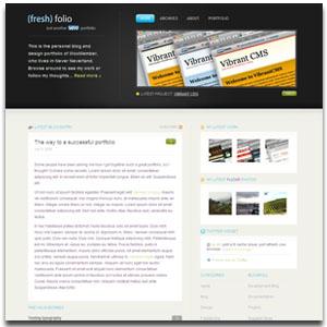 Fresh Folio WordPress Theme