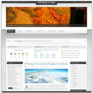 IT Prestige Joomla Template