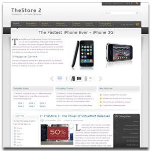 IT TheStore 2 Joomla Template