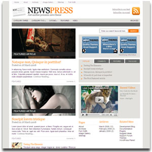 NewsPress WordPress Theme