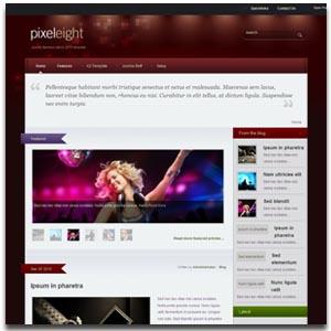 Pixel8 Joomla Blog Template