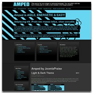 Amped Joomla Template