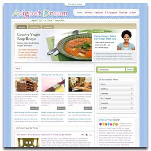 Avignet Dream Joomla Template