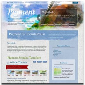 Pigment  Joomla Template