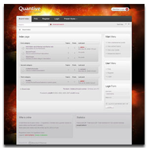 Quantive PhpBB3 Template