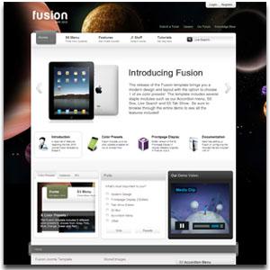 Fusion Joomla Business Presentation Template