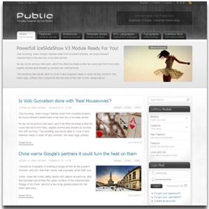 IT Public Joomla Template
