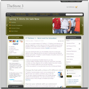 IT TheStore3 Joomla Template