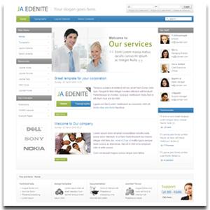 JA Edenite Joomla Corporate Template