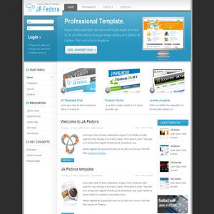 JA Fedora Joomla Business Edition Template
