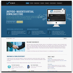 JA Halite Joomla Corporate Template