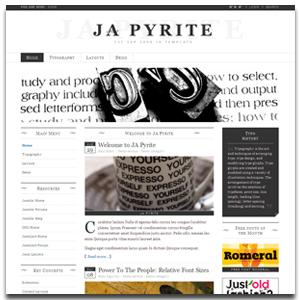 JA Pyrite Joomla Transition Template