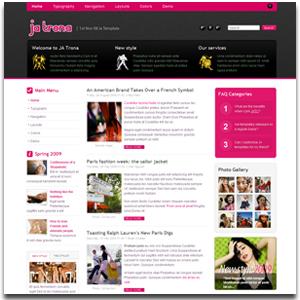 JA Trona Joomla Web 2.0 Template