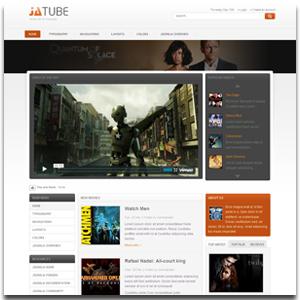 JA Tube Joomla Video Store Template