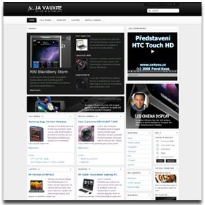 JA Vauxite Joomla Content Template