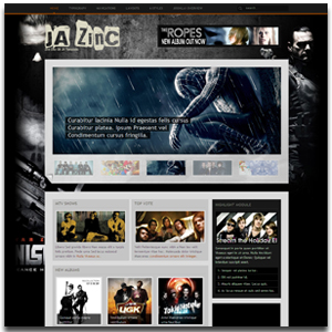 JA ZinC Joomla Template | Joomla Media Template with 6 Themes