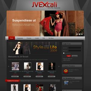 JV Excali VirtueMart Joomla Template