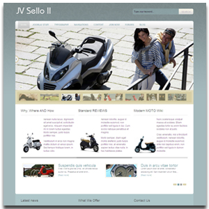 JV Sello II Classic art and Showroom Joomla Template