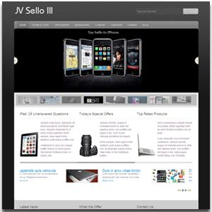 JV Sello III Joomla Technology Template