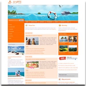 JV Winto Joomla Holiday Template