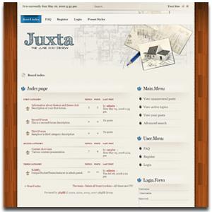 Juxta phpBB3 Theme