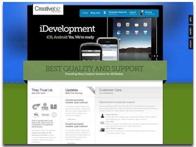 CreativeBiz Plazza Joomla Business Template