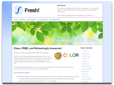 js fresh joomla template free joomla template from js fresh joomla template free joomla template from