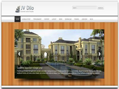 JV Dilo Joomla Corporate Template