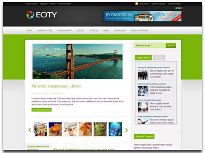 JV Eoty Joomla CorporateTemplate