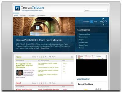 TerranTribune WordPress News Theme
