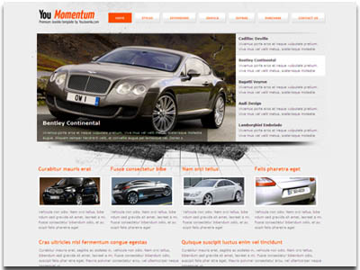 YouMomentum Joomla Cars Template