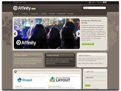 Affinity Drupal Theme