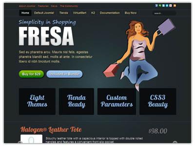 Fresa Joomla eCommerce Template