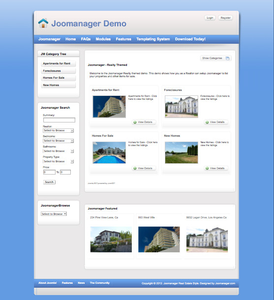 Joomanager Joomla-Real-Estate-Component