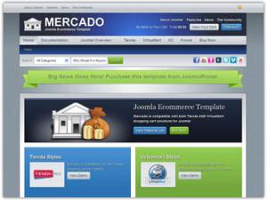 Mercado Joomla VirtueMart Template