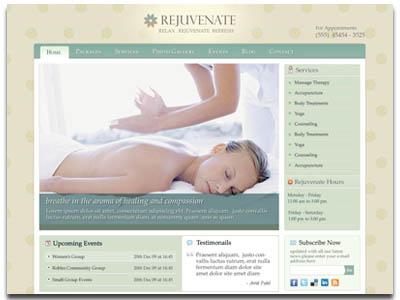 Rejuvenate WordPress Hair Salon Theme