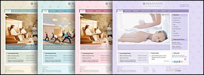 Rejuvenate WordPress Theme Color Options