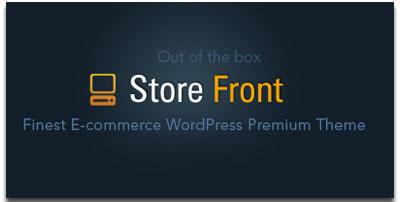 Store Front WordPress Theme
