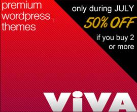 VivaThemes July Offer