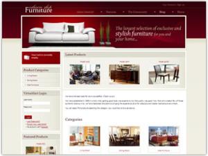 DJ Furniture Store Joomla Template