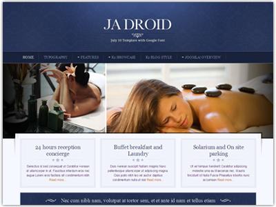 JA Droid Joomla Template
