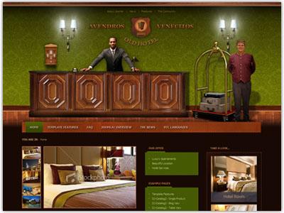 JM Hotel01 Joomla Restaurant Template
