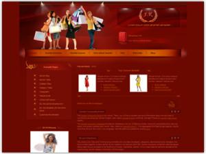 JM Women Clothing Joomla Template