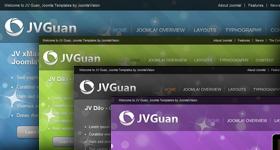 JV Guan Joomla Portfolio Template