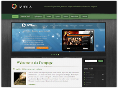 JV Hyla Joomla PortfolioTemplate